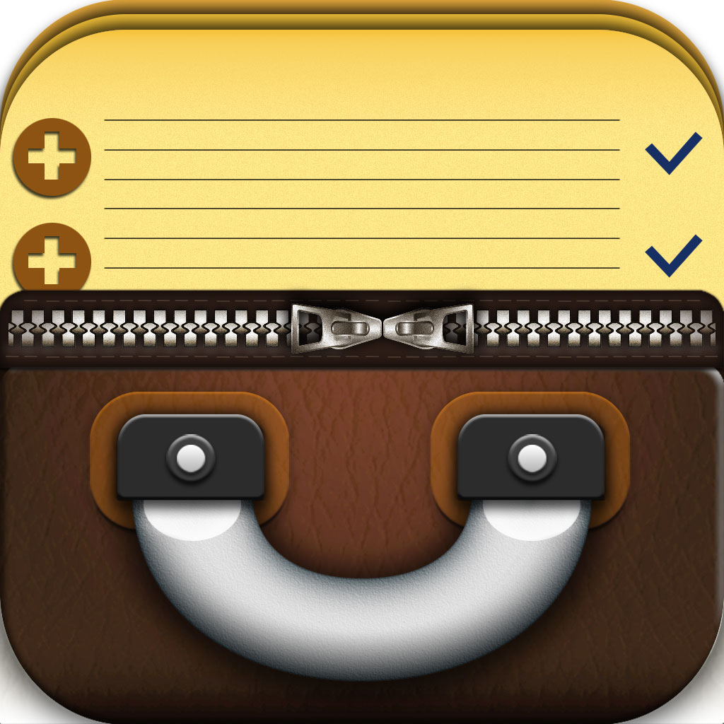 Suitcases - packing list app icon